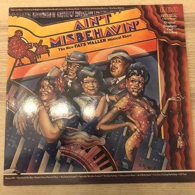 2 LP Ain't Misbehavin': The New Fats Waller Musical Show (TOP STAV)