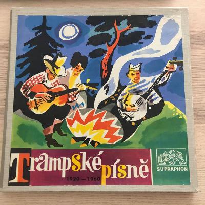 2 LP Box Trampské písně 1920 - 1960 (+příloha)