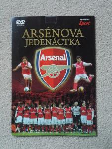 DVD Arsénova jedenáctka (Edice: Sport)